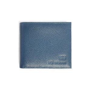 Portefeuille Print Lining Cuir Bleu pour homme