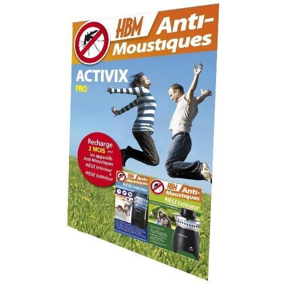 Recharge activix pro pi ges ext rieur int rieur achat - Piege a moustique exterieur ...