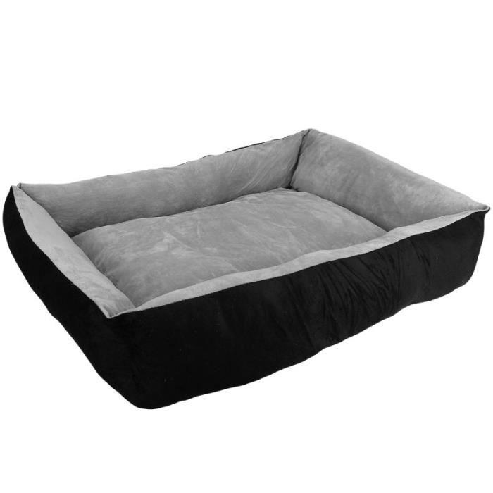panier lit pour chien et chat taille l gris achat vente corbeille coussin panier lit. Black Bedroom Furniture Sets. Home Design Ideas