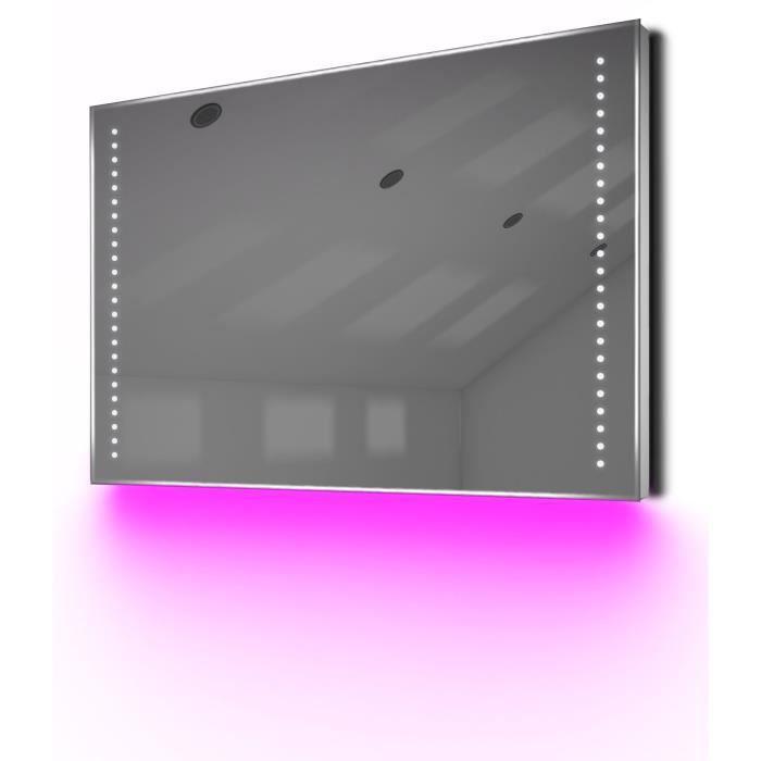 Miroir de toilette et rasage del lumi re d ambiance anti - Anti buee miroir salle de bain ...