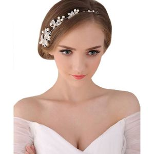 BROCHE Coiffure femme Finejo pour mariage perles strass f