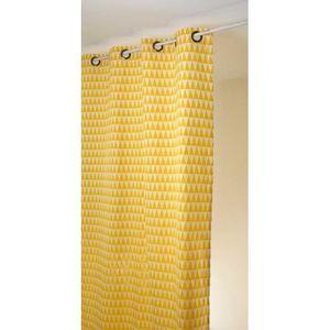 rideau geometrique achat vente rideau geometrique pas. Black Bedroom Furniture Sets. Home Design Ideas