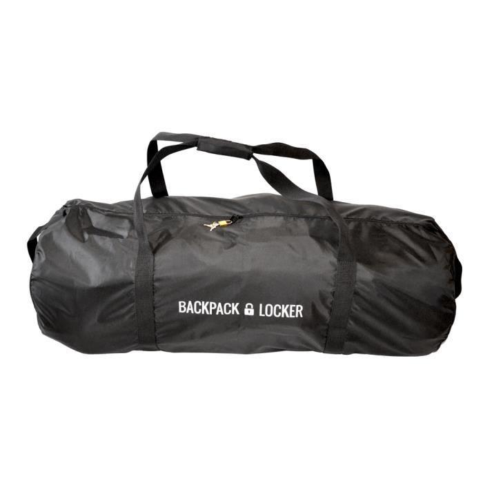 backpack locker housse avion pour sac dos 100l noir achat vente sac de voyage. Black Bedroom Furniture Sets. Home Design Ideas