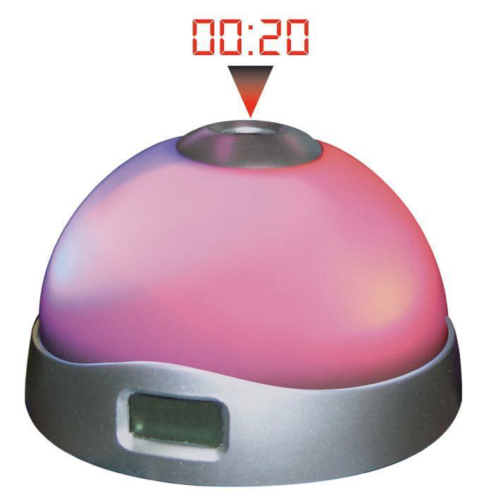 R veil projection change de couleurs achat vente - Reveil avec projection de l heure au plafond ...