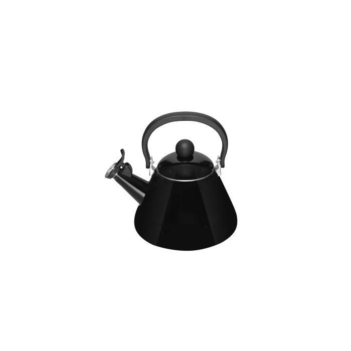 bouilloire kone noir le creuset achat vente bouilloire soldes cdiscount. Black Bedroom Furniture Sets. Home Design Ideas