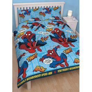 housse de couette spiderman ultimate 200x200 cm parure de lit spiderman r versible ultimate. Black Bedroom Furniture Sets. Home Design Ideas