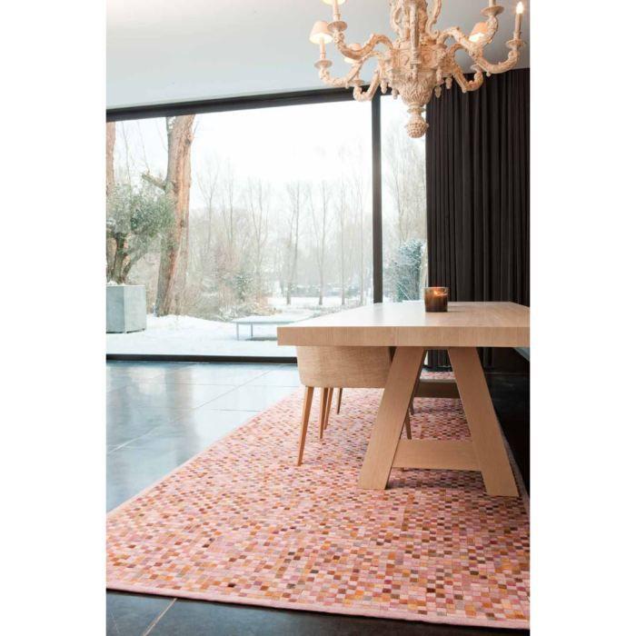tapis en coton rose pastel niki papilio 160 x 230 achat vente tapis soldes d t cdiscount. Black Bedroom Furniture Sets. Home Design Ideas