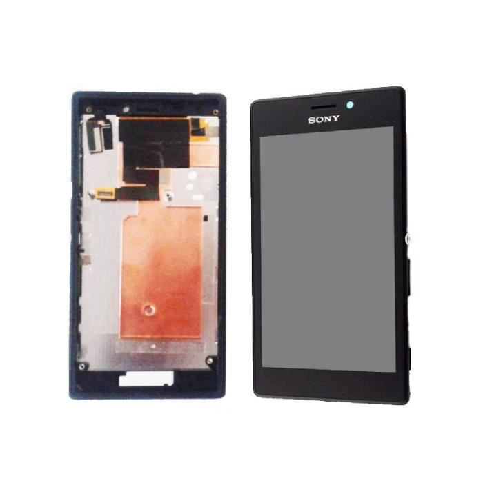 Sony xperia m2 s50h ecran lcd vitre tactile chassis for Ecran photo sony