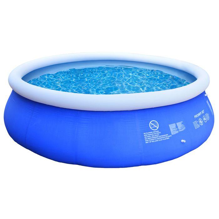 piscine hors sol autoportante 244x66cm tectake achat. Black Bedroom Furniture Sets. Home Design Ideas