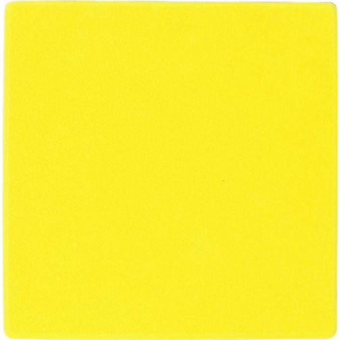 carr 20 x 20 cm pour marqauge au sol jaune prix pas cher soldes d hiver d s le 6 janvier. Black Bedroom Furniture Sets. Home Design Ideas