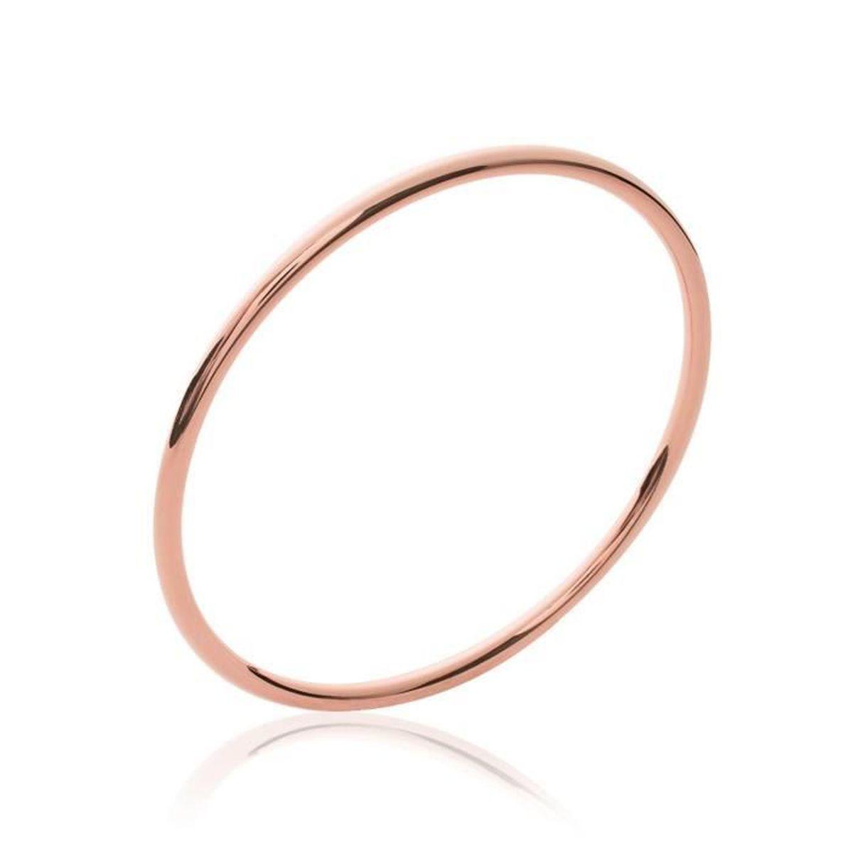 bracelet jonc plaqu or rose 18carats 750 1000 bijoux. Black Bedroom Furniture Sets. Home Design Ideas