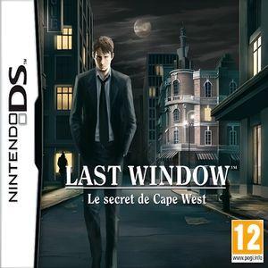 Last Window : Le secret de Cape West - Jeu Nintendo DS