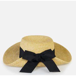 femmes bowknot chapeau de soleil chapeau de plage chapeau de panama achat vente chapeau. Black Bedroom Furniture Sets. Home Design Ideas