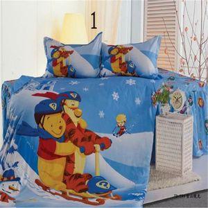 parure lit enfant achat vente parure lit enfant pas cher cdiscount. Black Bedroom Furniture Sets. Home Design Ideas