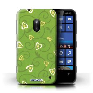 COQUE - BUMPER Coque de Stuff4 / Coque pour Nokia Lumia 620 / Jau