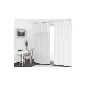 rideau nouette achat vente rideau nouette pas cher cdiscount. Black Bedroom Furniture Sets. Home Design Ideas