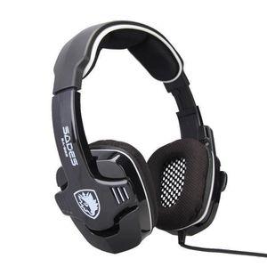 CASQUE - ÉCOUTEUR AUDIO SA922 Pro Surround Stéréo PC Gaming Headset Casque