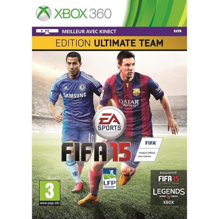 JEUX XBOX 360 Fifa 15 Edition Ultimate Team Jeu XBOX 360