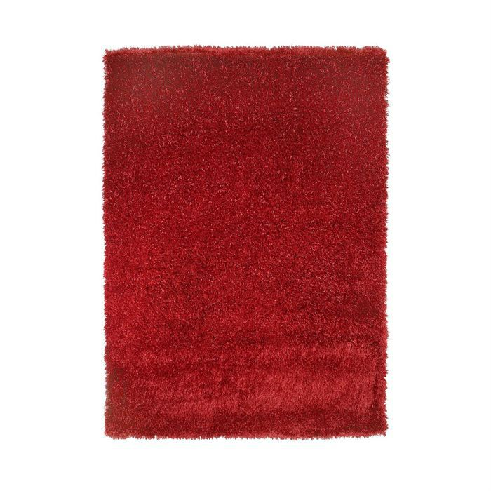 Tapis Touch Rouge 170x240 Achat Vente Tapis Cdiscount