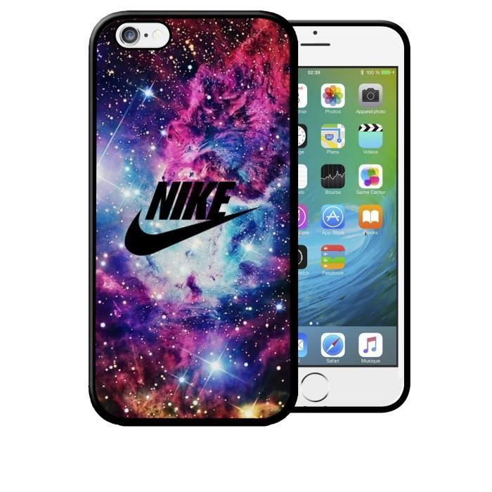 coque iphone 6 6s nike galaxie toiles sport logo apple. Black Bedroom Furniture Sets. Home Design Ideas