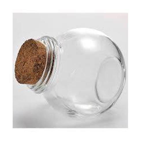 Pot rond penche en verre transparent achat vente pot - Pot conservation verre ...