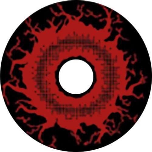 Lentilles rouge et noire monstre d mon annuelles rouge for Domon bijouterie