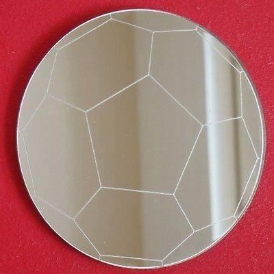 Miroir de football 45 cm de diam tre 5 mm d 39 paisseur for Miroir acrylique incassable