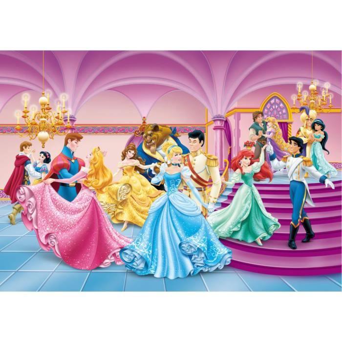 Papier peint princesse achat vente papier peint princesse pas cher les soldes sur - Toutes les princesse disney ...