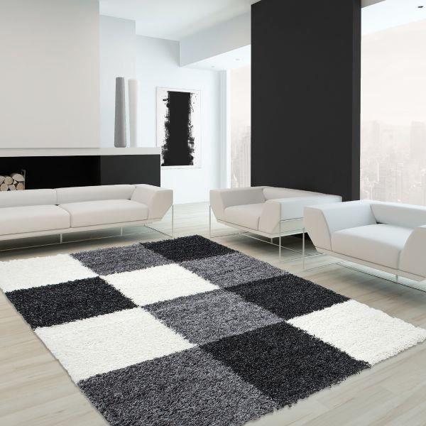 tapis shaggy life 1501 noir 200 x 290 cm achat vente tapis cdiscount. Black Bedroom Furniture Sets. Home Design Ideas