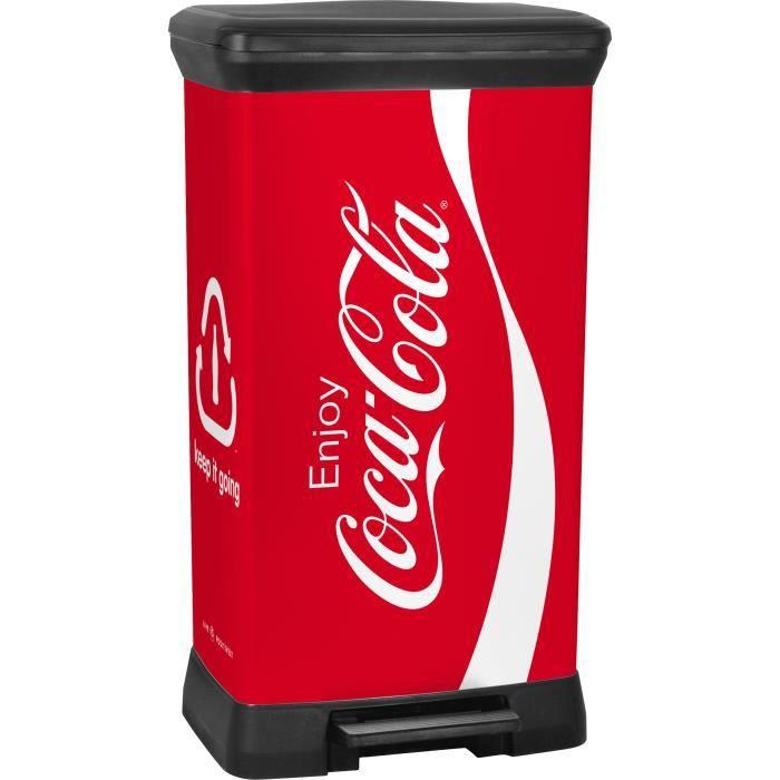 Curver deco poubelle de recyclage 50 l achat vente poubelle corbeille c - Poubelle recyclage maison ...