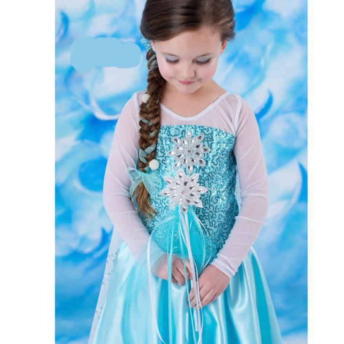 dguisement panoplie robe princesse reine des neiges frozen costume e