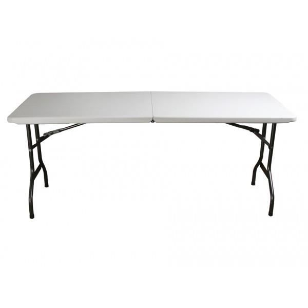 table r 233 ception 6prs pliante ultra compacte velleman achat vente table de jardin table