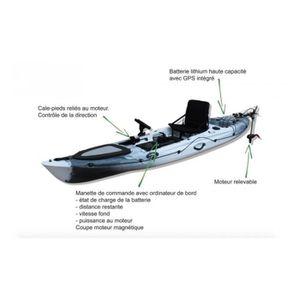 Kayak Abaco 360 Luxe Torqeedo Rotomod - Couleur...
