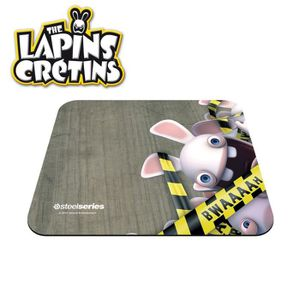 TAPIS DE SOURIS Steelseries tapis de souris Lapins Crétins Bwaaah