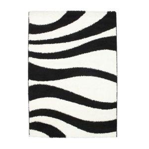 tapis de salon noir et blanc achat vente tapis de. Black Bedroom Furniture Sets. Home Design Ideas