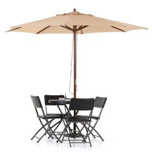 parasol pour balcon achat vente parasol pour balcon pas cher cdiscount. Black Bedroom Furniture Sets. Home Design Ideas