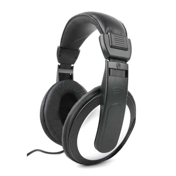 casque audio gris noir pour pc toshiba cb30 a 102 prix pas cher cdiscount. Black Bedroom Furniture Sets. Home Design Ideas