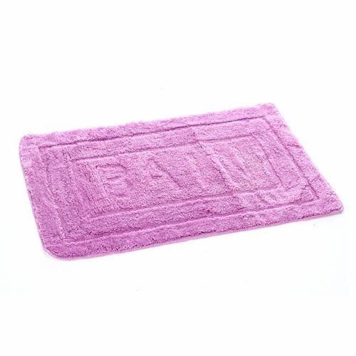 Tapis De Salle De Bain Purple 60 X 90 Cm Vi Achat Vente Tapis Bain Cdiscount