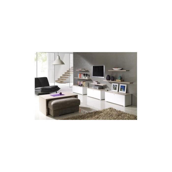 Justhome living ii ensemble de meubles de salon sonoma for Ensemble de salon complet