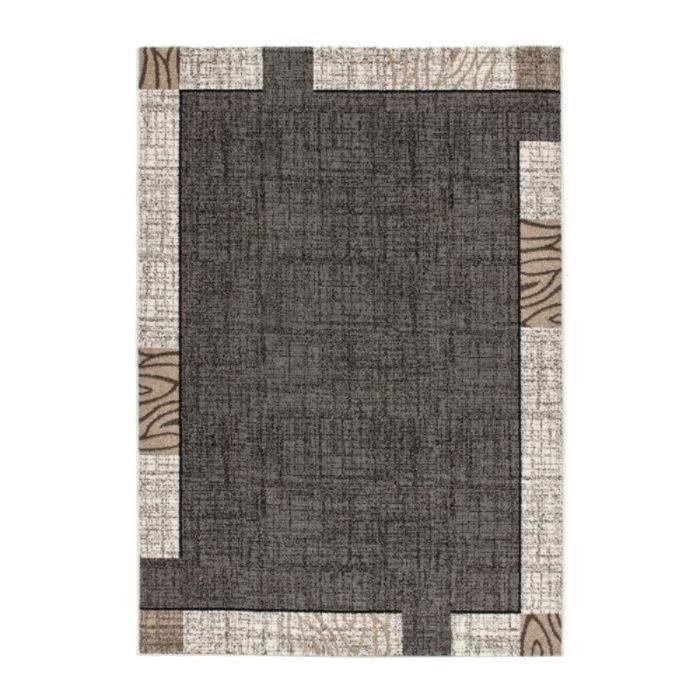 Mondo tapis de salon 200x290 cm gris achat vente tapis - Tapis shaggy gris 200x290 ...