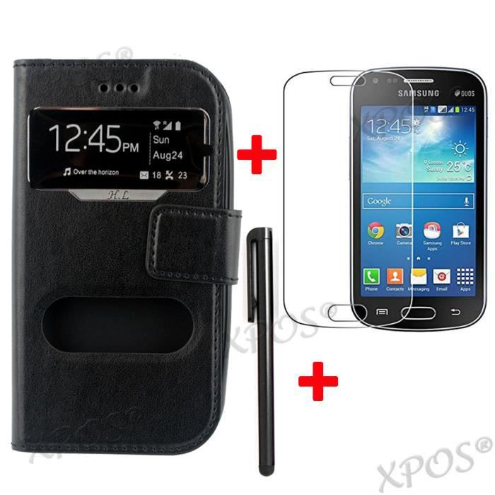 Lot 3 pour samsung galaxy trend lite s7390 housse - Protection galaxy trend lite ...