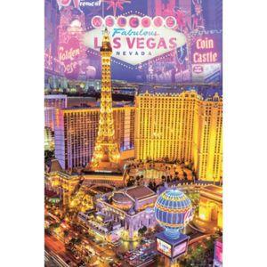 AFFICHE Las Vegas Poster - Collage (91 x 61 cm)