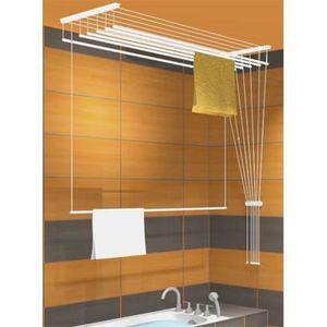 etendoir plafond airavie 7 barres 1m60 achat vente. Black Bedroom Furniture Sets. Home Design Ideas