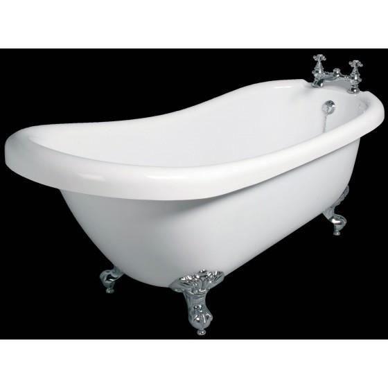 Baignoire il t r tro 2 acrylique de 170 cm achat vente baignoire kit ba - Baignoire retro acrylique ...