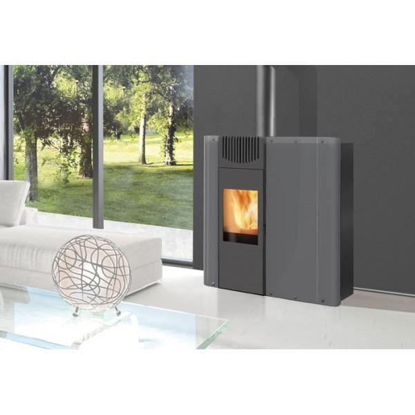 edilkamin demy po le granul s et bois 10 kw achat vente po le insert foyer edilkamin. Black Bedroom Furniture Sets. Home Design Ideas