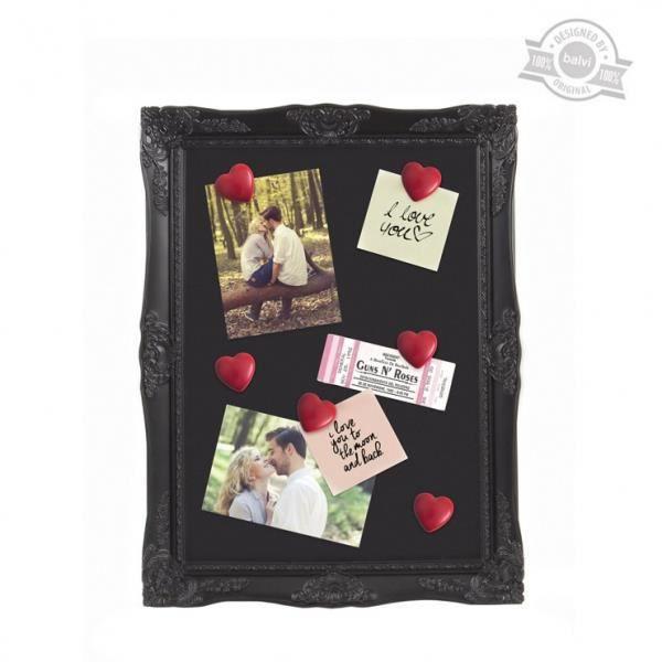 p le m le coeur x6 magn tique noir achat vente porte. Black Bedroom Furniture Sets. Home Design Ideas
