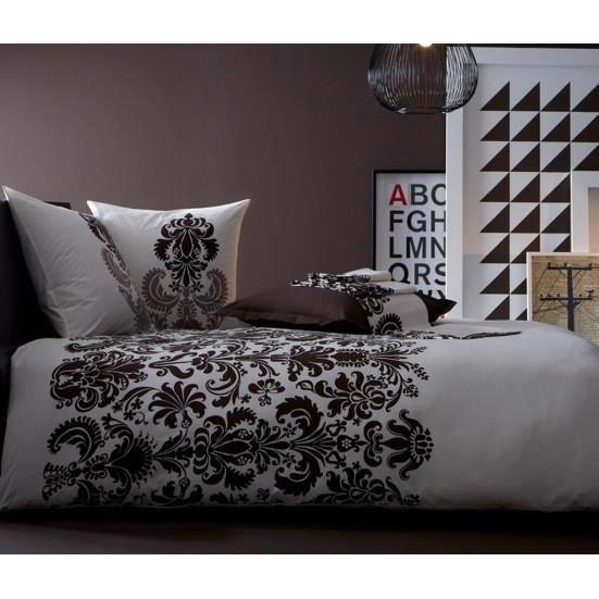 voyage chocolat housse de couette 200x200 linge de maison de tr s grande qualit articles en. Black Bedroom Furniture Sets. Home Design Ideas