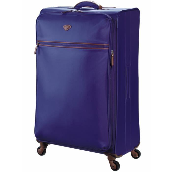 valise souple grande jump ref jum36575 violet violet. Black Bedroom Furniture Sets. Home Design Ideas