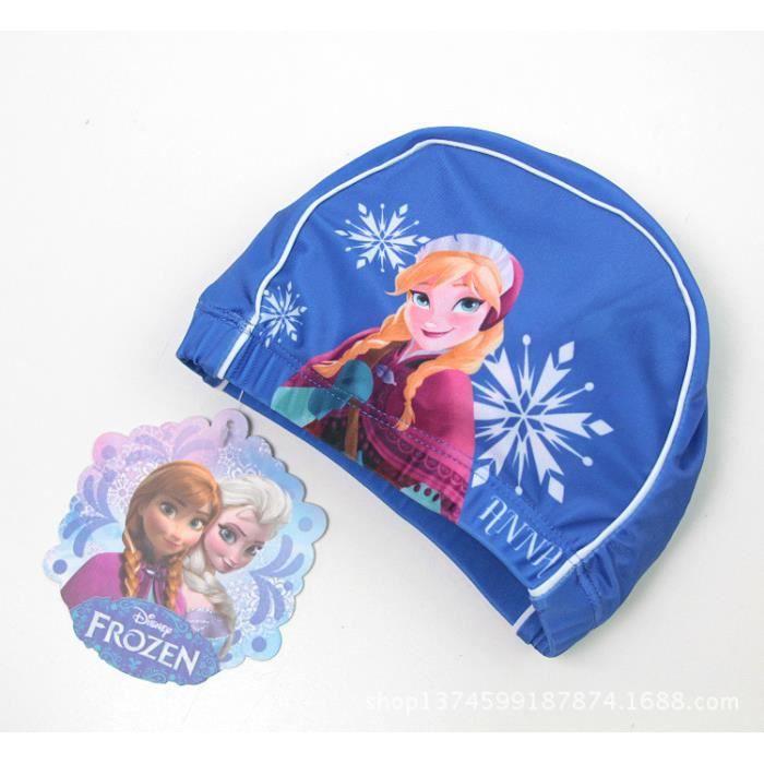Qumao frozen bonnet de bain piscine elsa reine des neiges - Bonnet de piscine original ...