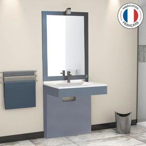 Lavabo pmr achat vente lavabo pmr pas cher les for Meuble salle de bain pmr